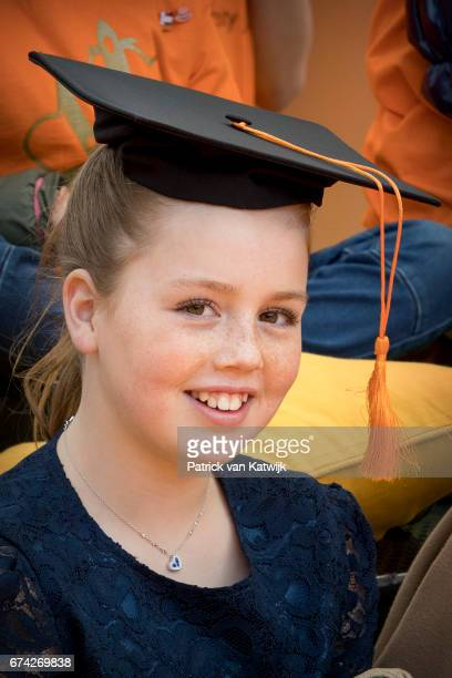 Princess Alexia of The Netherlands attends the King's 50th birthday during the Kingsday celebrations on April 27 2017 in Tilburg Netherlands