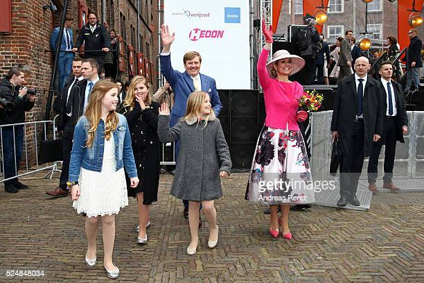 Princess Alexia of The Netherlands Crown Princess CatharinaAmalia of The Netherlands King WillemAlexander of The Netherlands Princess Ariane of The...