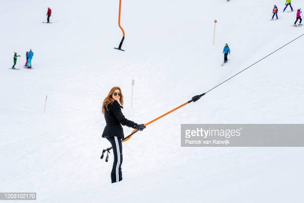 Princess Alexia of The Netherlands during the annual photo call on February 25 2020 in Lech Austria