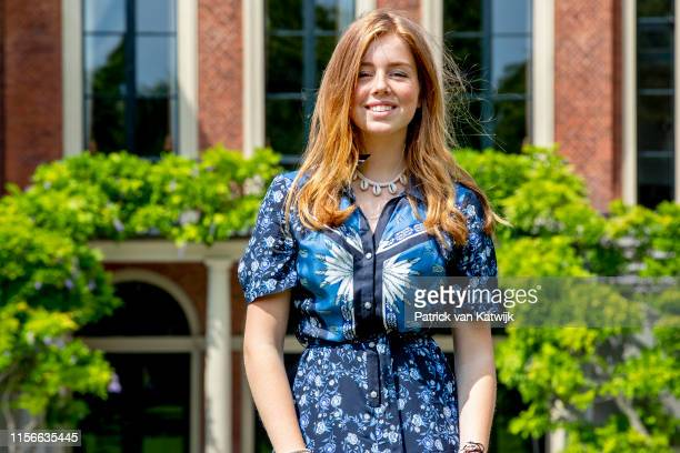 Princess Alexia of The Netherlands during their annual summer photo session at Huis ten Bosch Palace on July 19 2019 in The Hague Netherlands