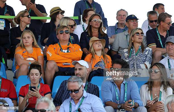 Princess Alexia of the Netherlands King WillemAlexander of the Netherlands CatharinaAmalia Princess of Orange Queen Maxima of the Netherlands Queen...