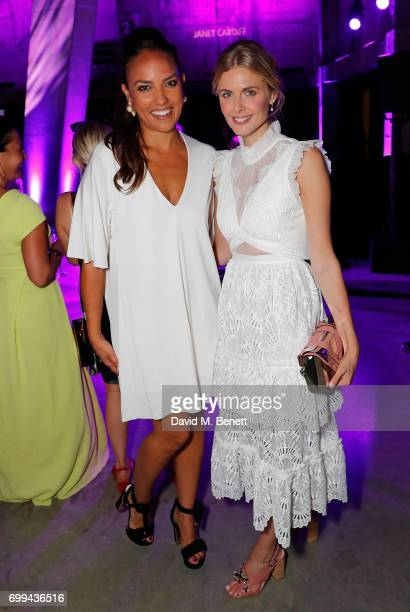 Princess Alia AlSenussi and Donna Air attend the Tate's Young Patrons Party at The Tanks at Tate Modern on June 21 2017 in London England