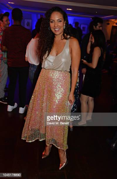 Princess Alia AlSenussi attends The Arts Club Frieze Party on October 3 2018 in London England