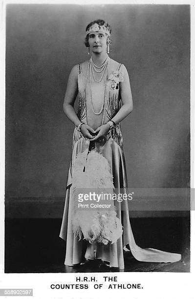 Princess Alice, Countess of Athlone , 1937. She was the last surviving grandchild of Queen Victoria and held the titles of Princess of Saxe-Coburg...