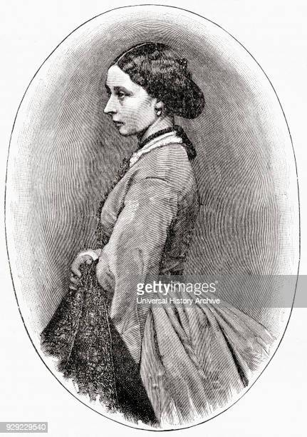 Princess Alice of the United Kingdom 1843 – 1878 later Princess Louis of Hesse and Grand Duchess of Hesse and by Rhine Daughter of Queen Victoria...