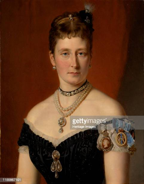 Princess Alice of the United Kingdom Grand Duchess of Hesse and by Rhine 1879 Found in the Collection of Royal Collection London Artist Hartmann...