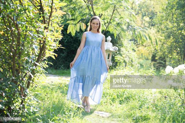 Princess Alina Of Romania poses during a summer photo session in a public garden on August 06 2018 in Budapest Romania