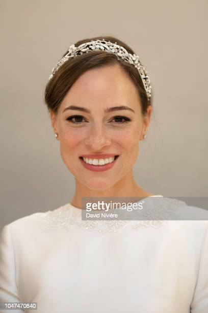 Princess Alina of Romania attends the reception at Casino of Sinaia on September 30 2018 in Sinaia Romania