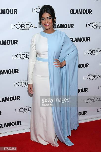 Princess Ameera bint Aidan bin Nayef AlTaweel of Saudi Arabia wife of Prince alWaleed bin Talal attends the Glamour Magazine 23rd annual Women Of The...
