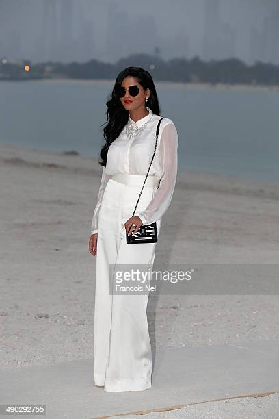 Princess Ameerah AlTaweel attends the Chanel Cruise Collection 2014/2015 Photocall at The Island on May 13 2014 in Dubai United Arab Emirates