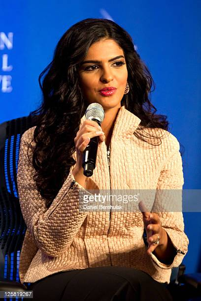Princess Ameerah AlTaweel Vice Chairwoman of the Board of the Alwaleed Bin Talal Foundation speaks during the seventh annual meeting of the Clinton...