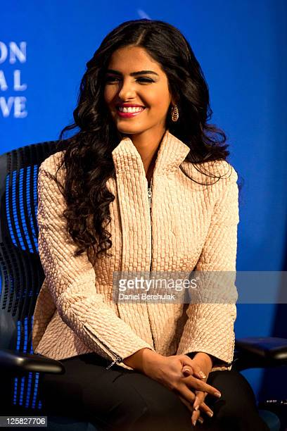 Princess Ameerah AlTaweel Vice Chairwoman of the Board of the Alwaleed Bin Talal Foundation looks on during the seventh annual meeting of the Clinton...