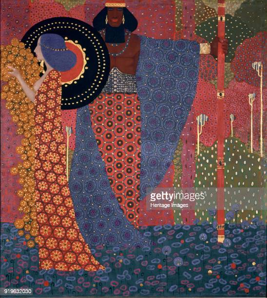Princess and Warrior 1914 Found in the Collection of Ca' Pesaro Galleria Internazionale d'Arte Moderna Venice