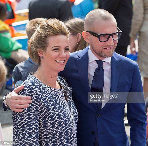 Princess Anette of The Netherlands and Prince Bernard of The Netherlands attend King's Day on April 26 2014 in Amstelveen Netherlands