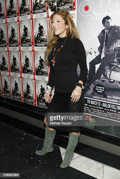 Princess Ann Claire during Quadrophenia Musical Theatre Performance at The Avalon in Hollywood California United States