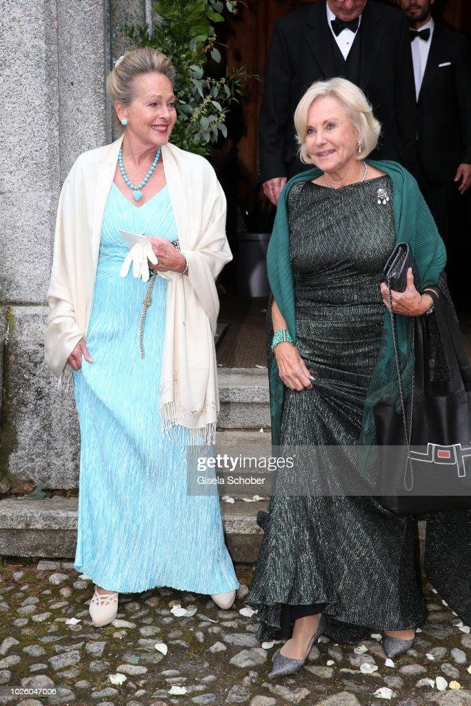 Wedding Of Prince Konstantin Of Bavaria And Deniz Kaya : News Photo