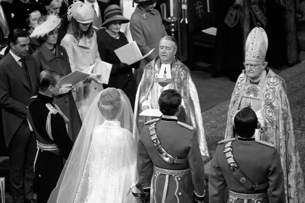 Royalty Princess Anne And Captain Mark Phillips Wedding London