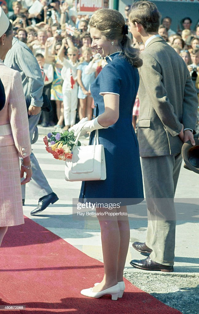 Princess Anne And Prince Charles During A State Visit To Norway : News Photo