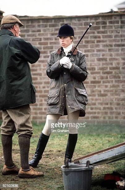 Princess Anne At Crookham Horse Trials.