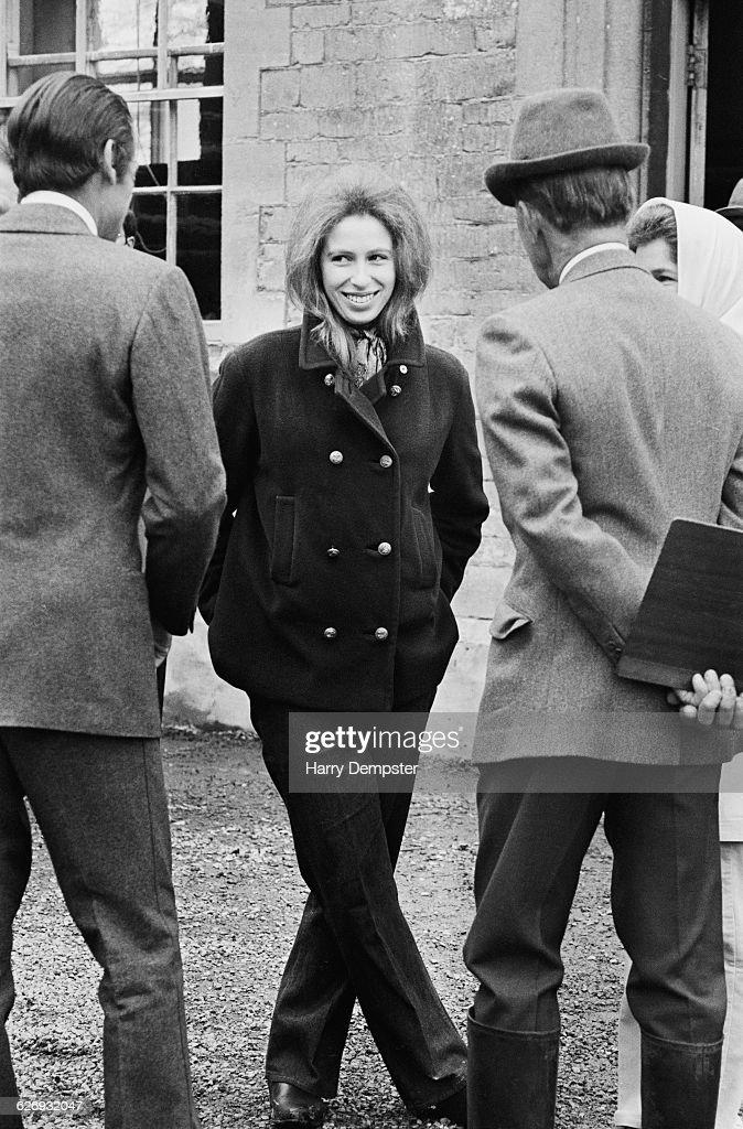 Princess Anne at the Badminton Horse Trials : News Photo