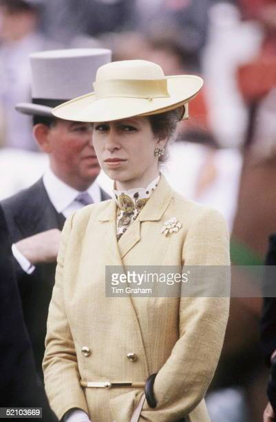 Princess Anne At The Derby On 1st June 1983