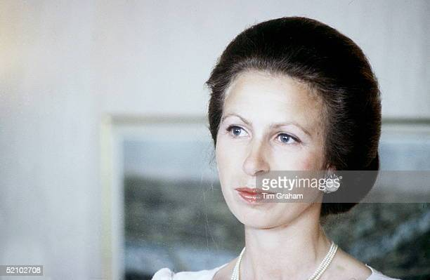 Princess Anne Attending The Slimathon Awards Presentation In London