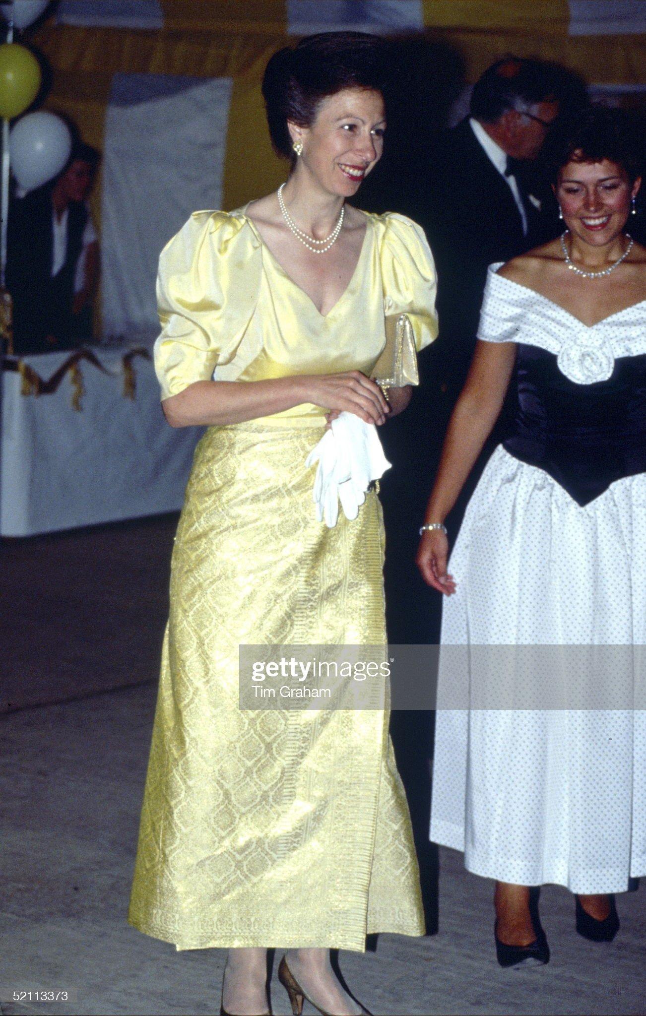 Anne At Ball : News Photo