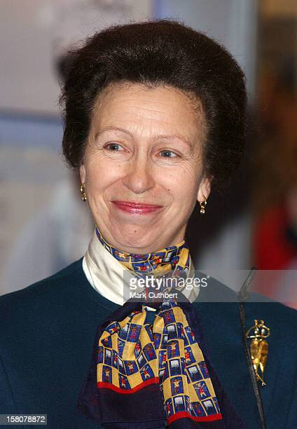 Princess Anne Attends The Royal Yachting Association'S Boat Show In London'S Docklands