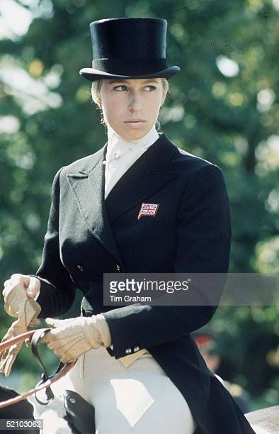 Princess Anne Competing In The Dressage Section Of A Three Day Event In Kiev Russia 511 September 1973