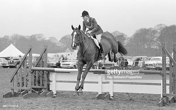 Princess Anne competing in the Rushall Horse Trials in Wiltshire on 31st March 1973
