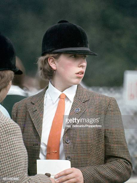 Princess Anne during an InterSchools Gymkhana at Moat House Farm in Benenden Kent on 9th July 1966