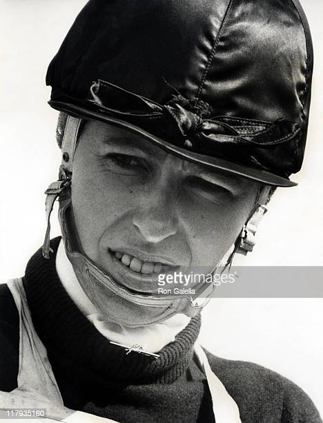 Princess Anne during Wyle Horse Trials at Wilshire in London England Great Britain