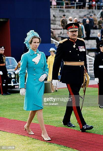 Princess Anne In Berlin For The Queen's Birthday Parade The Tour Was From 59 June 1973