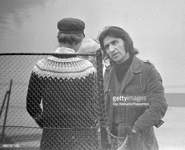 Princess Anne in conversation with Ray Bellisario in Windsor Great Park on 4th March 1973 Ray Bellisario was credited with being the 'original...