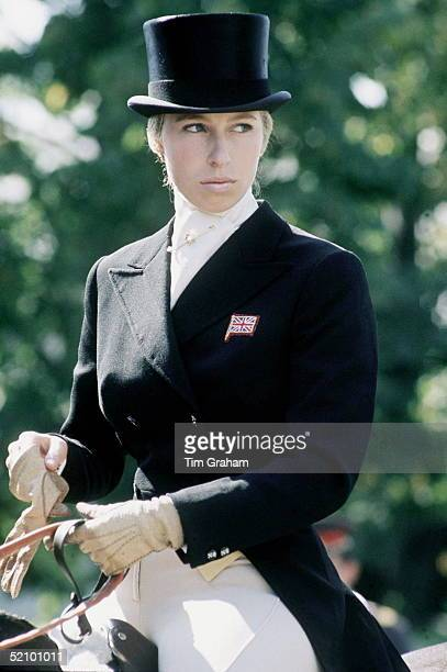 Princess Anne In Dressage Outfit In Kiev Russia At A Three Day Event Championships Representing The British Team 511 September 1973