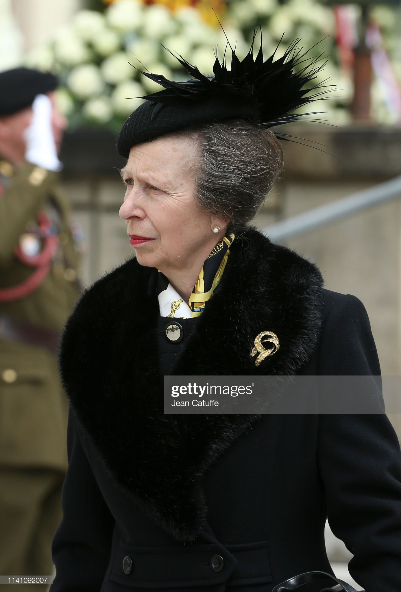 Похороны Великого Герцога Жана https://media.gettyimages.com/photos/princess-anne-leaves-the-funeral-of-grand-duke-jean-of-luxembourg-at-picture-id1141092007?s=2048x2048