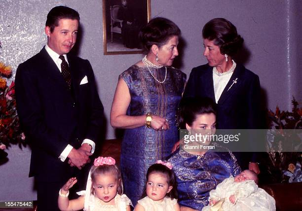 Princess Anne of Orleans daughter of the Counts of Paris Henry and Isabel on the birth of her third son Pedro Prince Carlos de Borbon Dos Sicilias...