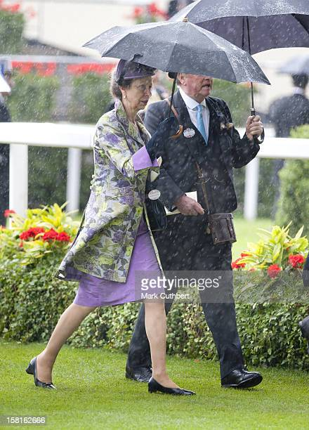 Princess Anne On The Third Day Of Royal Ascot