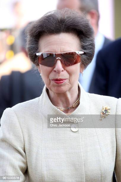 Princess Anne Princess Royal attends Chelsea Flower Show 2018 on May 21 2018 in London England