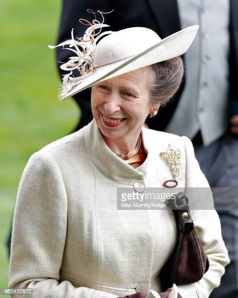 Princess Anne Princess Royal attends day 1 of Royal Ascot at Ascot Racecourse on June 19 2018 in Ascot England