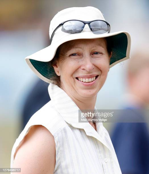 Princess Anne, Princess Royal attends day 3 of the Festival of British Eventing at Gatcombe Park on August 6, 2006 in Stroud, England.