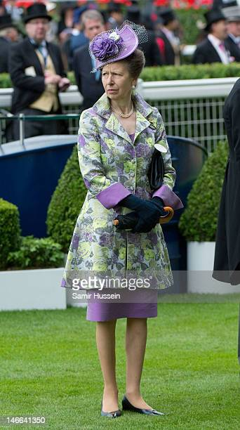 Princess Anne Princess Royal attends Ladies Day of Royal Ascot 2012 at Ascot Racecourse on June 21 2012 in Ascot United Kingdom