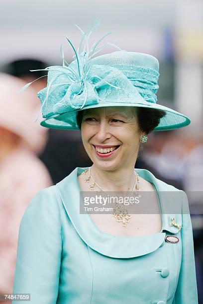 Princess Anne Princess Royal attends Ladies Day of Royal Ascot Races on June 21 2007 in Ascot England