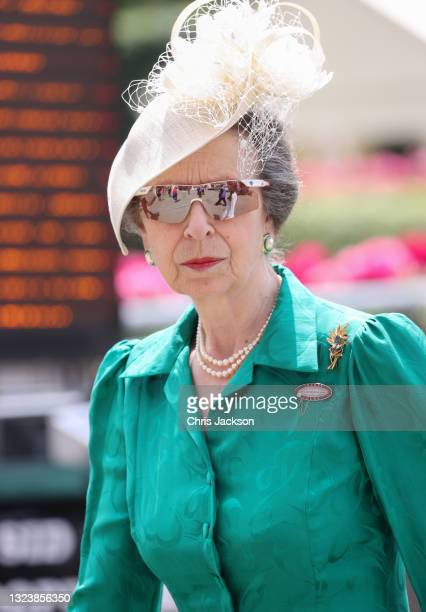 Princess Anne, Princess Royal attends Royal Ascot 2021 at Ascot Racecourse on June 16, 2021 in Ascot, England.