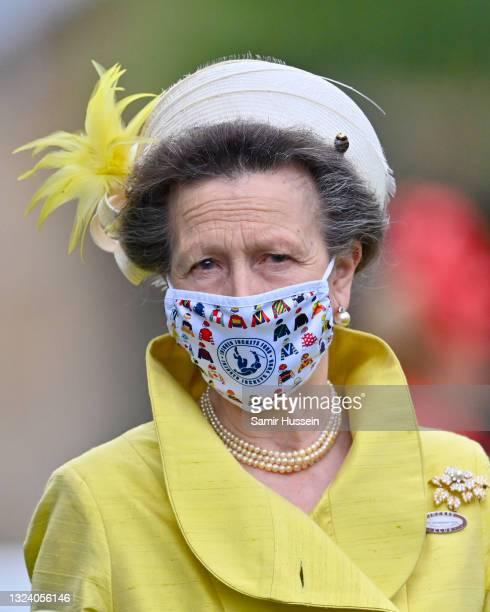 Princess Anne, Princess Royal attends Royal Ascot 2021 at Ascot Racecourse on June 17, 2021 in Ascot, England.