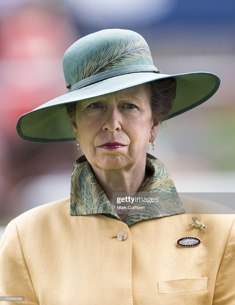 Princess Anne, Princess Royal attends the Betfair weekend featuring The King George VI and Queen Elizabeth Stakes at Ascot Racecourse on July 27, 2013 in Ascot, England.