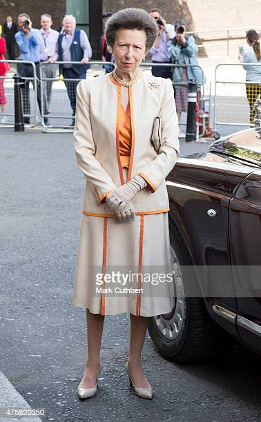 Princess Anne, Princess Royal attends the Centenary Annual Meeting of The National Federation Of Women's Institute at Royal Albert Hall on June 4,...