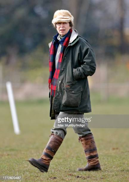 Princess Anne, Princess Royal attends the Gatcombe Horse Trials at Gatcombe Park on March 24, 2007 in Stroud, England.