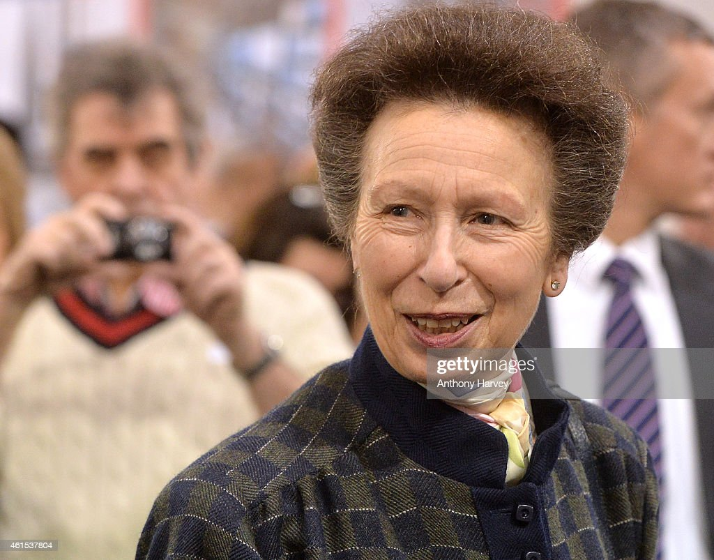 Princess Anne Attends The London Boat Show : News Photo
