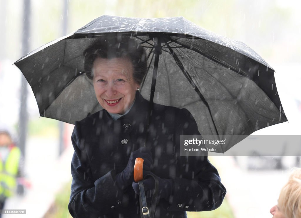 GBR: HRH The Princess Royal Opens UKHO Headquarters